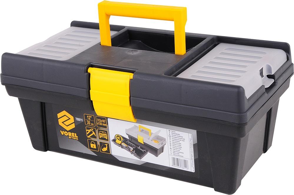 """Box na nářadí plastový 12""""  1 zámek 30cm"""