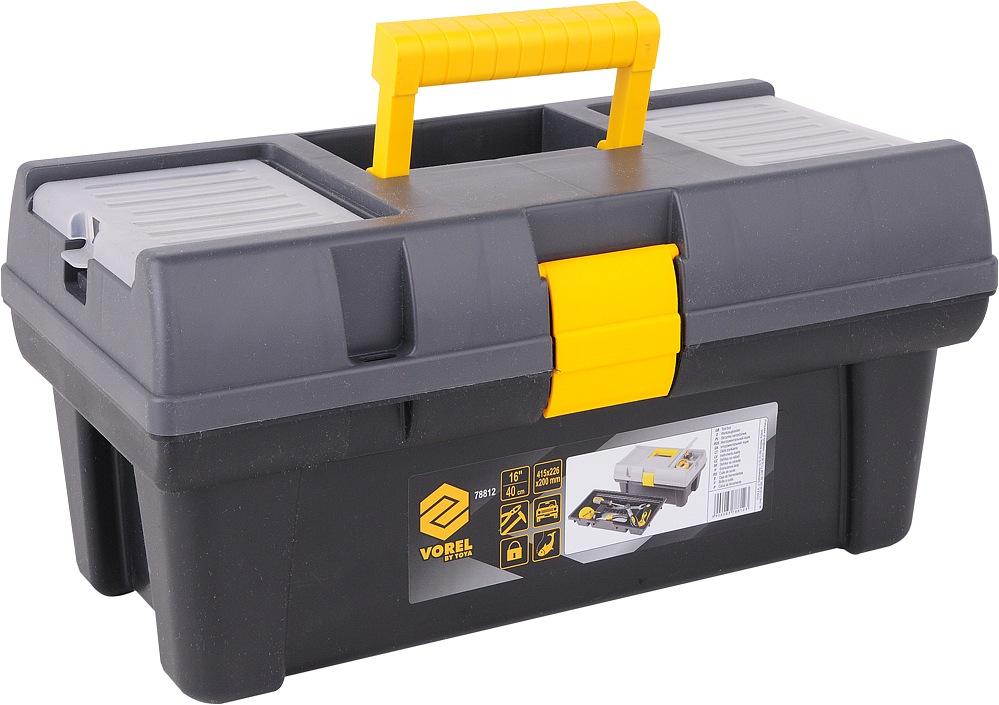 """Box na nářadí plastový 16""""  1 zámek 40cm"""