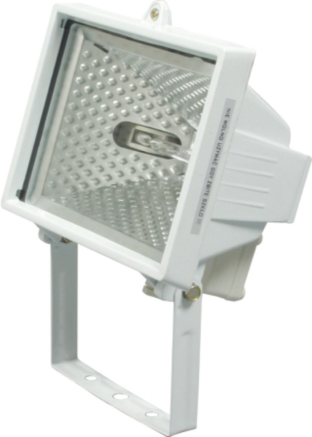 Lampa halogenová 120 W bílá