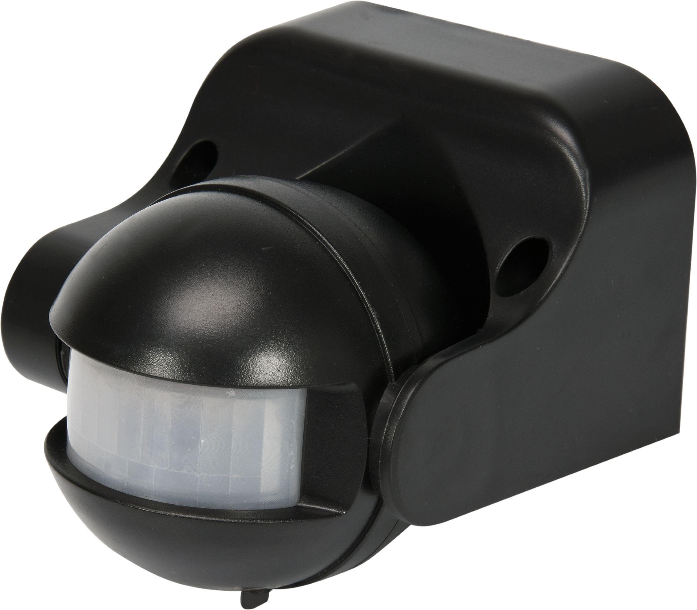 Čidlo pohybu venkovní černé IP44
