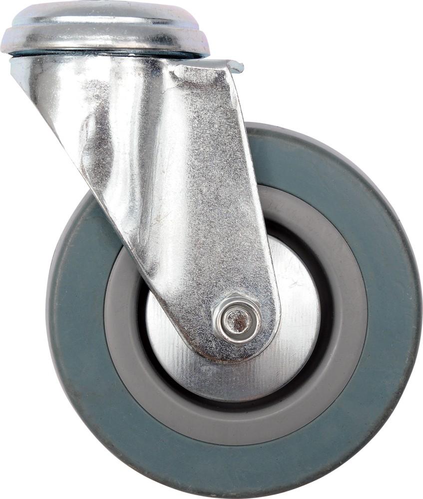 Kolečko otočné, gumové na čep 20kg 50/16/70mm