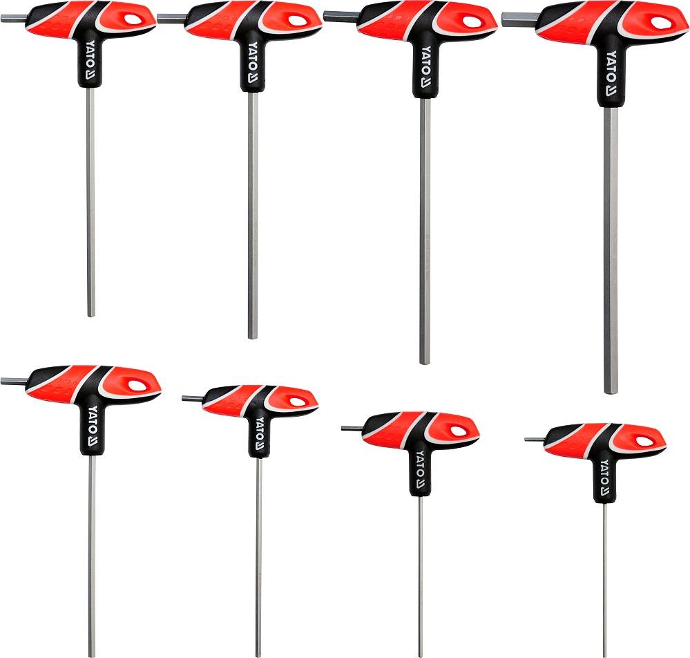 Sada šroubováků T imbus 8 ks 2,5 - 10 mm