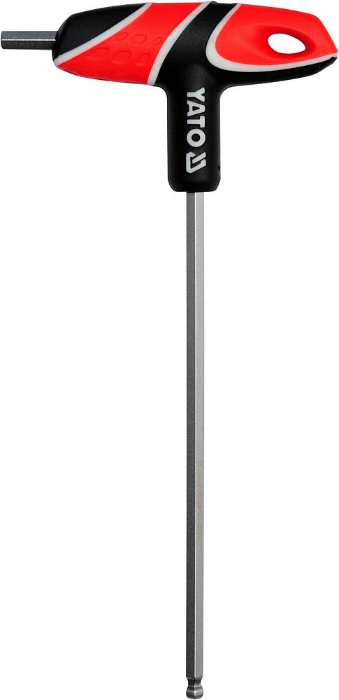 Šroubovák T imbus kulový 6 mm