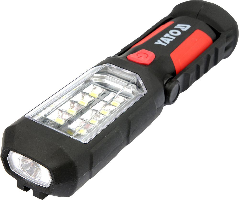 Lampa montážní 8+1 LED, hák+magnet