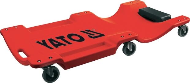 YATO YT-0880 Lehátko montážní pojízdné 100cm