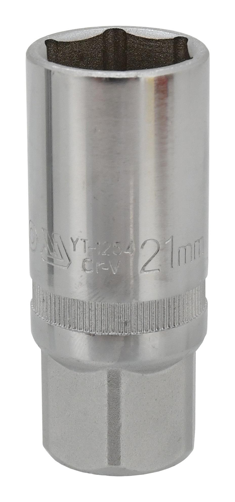 """Nástavec 1/2"""" 21 mm na svíčky"""