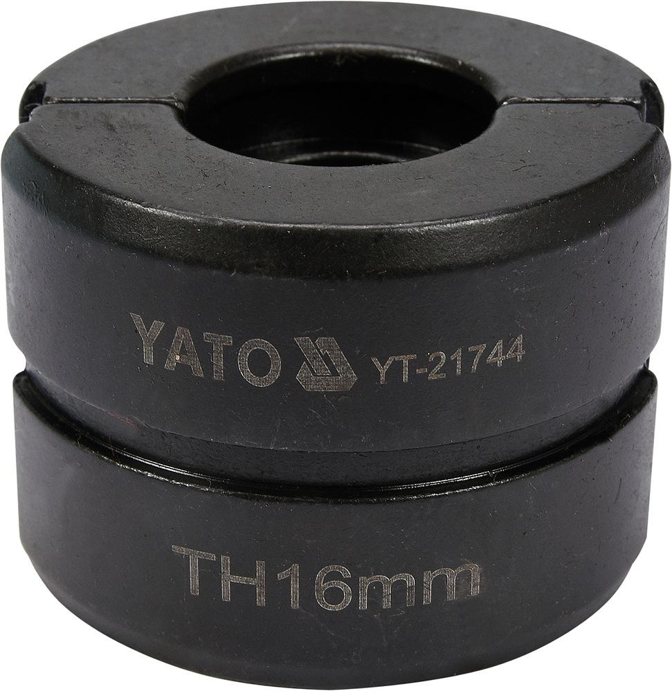 Náhradní čelisti k lisovacím kleštím YT-21735 typ TH 16mm