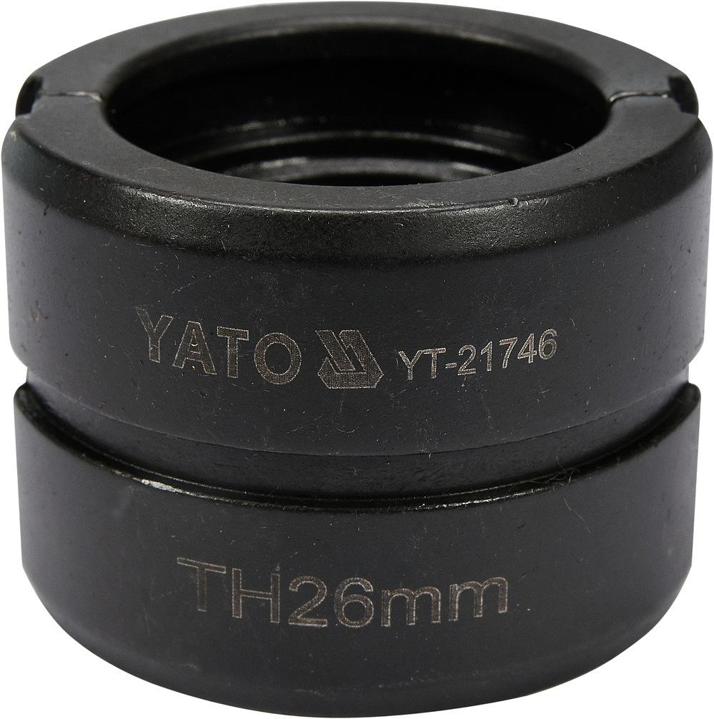 Náhradní čelisti k lisovacím kleštím YT-21735 typ TH 26mm