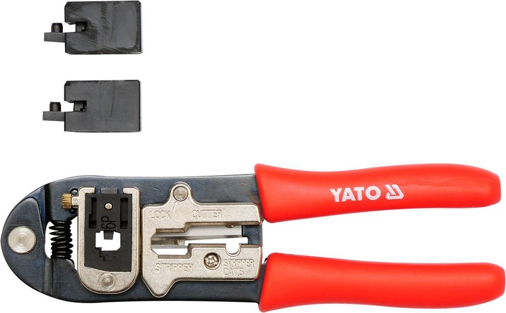 Kleště konektorové 195 mm telefonní YT-2244
