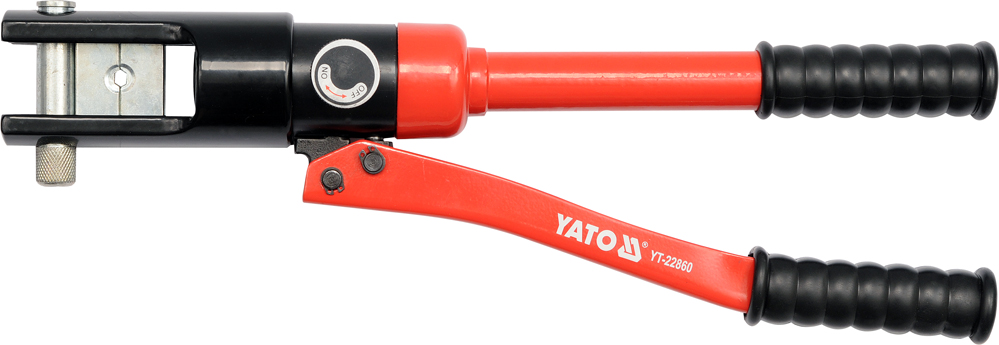Kleště lisovací na koncovky kabelů AL 10-95mm2 , Cu 10-120mm2, 415mm