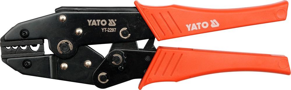 Kleště konektorové 230mm, 22-8(AWG), 1,5-10,00mm2