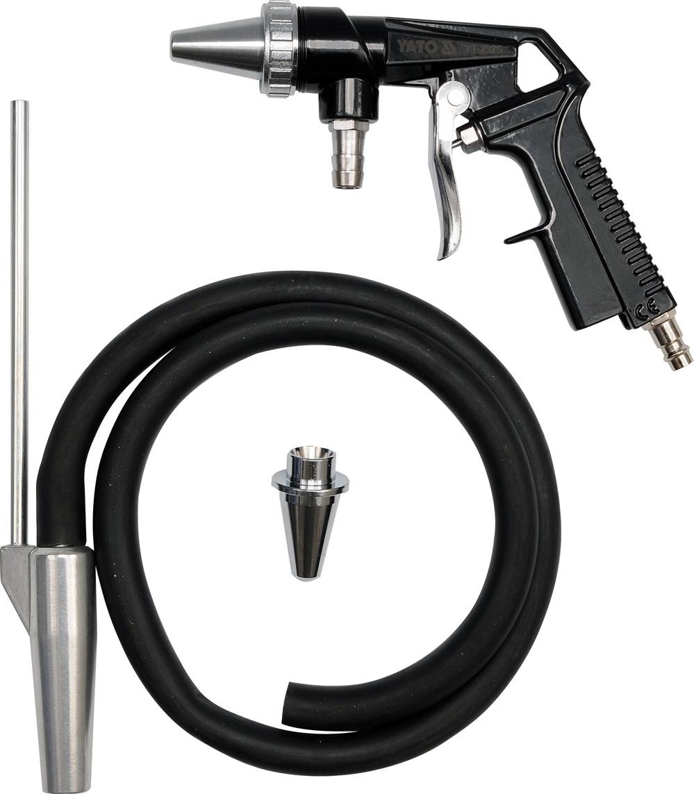 """Pískovací pistole s hadicí 1/4"""" průměr 6,3mm"""