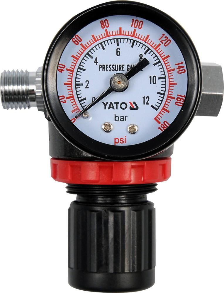 """Regulátor tlaku vzduchu 1/4"""", max. 1,2MPa"""