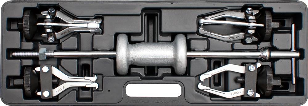 Stahovák rázový s kluzkým kladivem na ložiska SADA 5ks