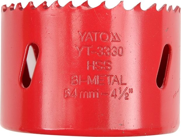 Korunka vrtací bimetalová 64 mm