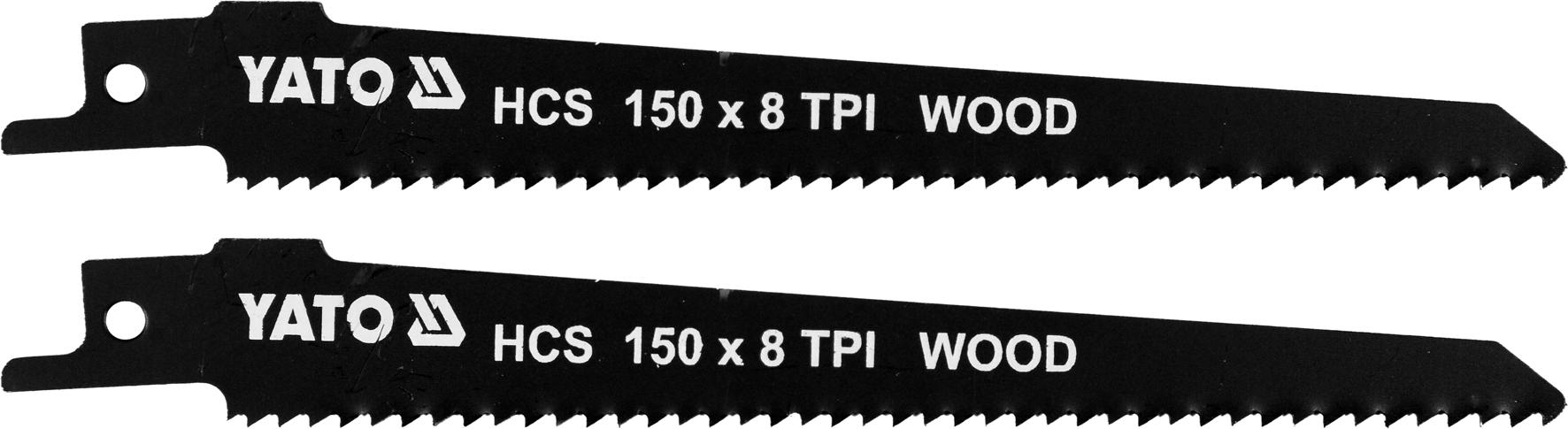 Pilové listy HCS 150MM 8TPI 2ks