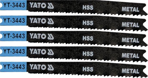 List pilový do přímočaré pily 91,5 mm na kov TPI21-16 5 ks
