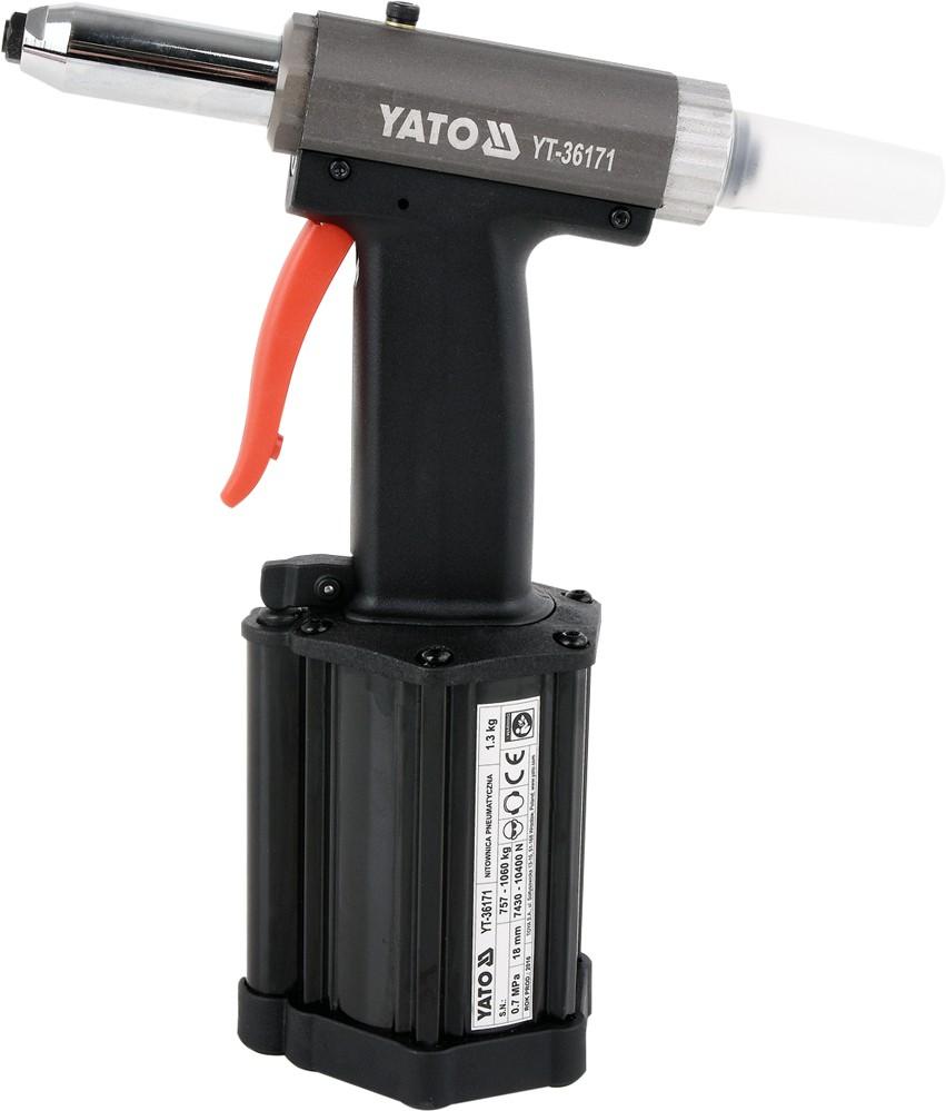 Nýtovačka pneumatická (2,4- 5,00mm)
