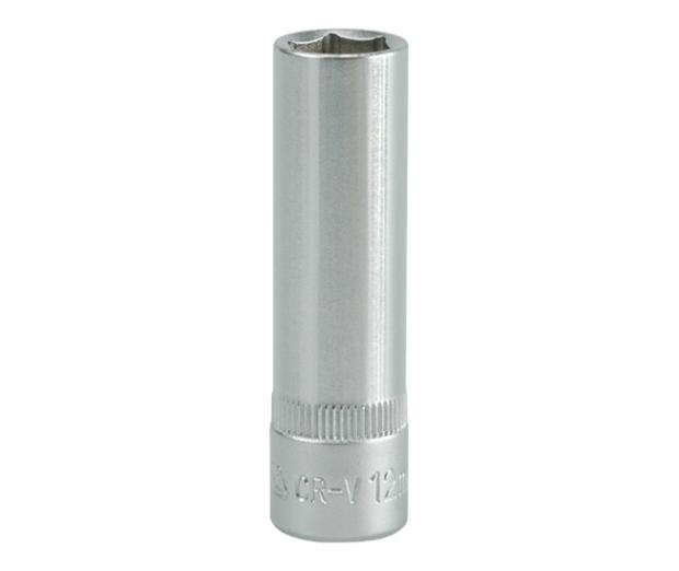 """Nástavec 3/8"""" 12 mm šetihranný hluboký"""