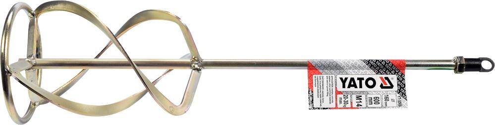 Míchadlo spirálové 160 x 600 mm trojté M14