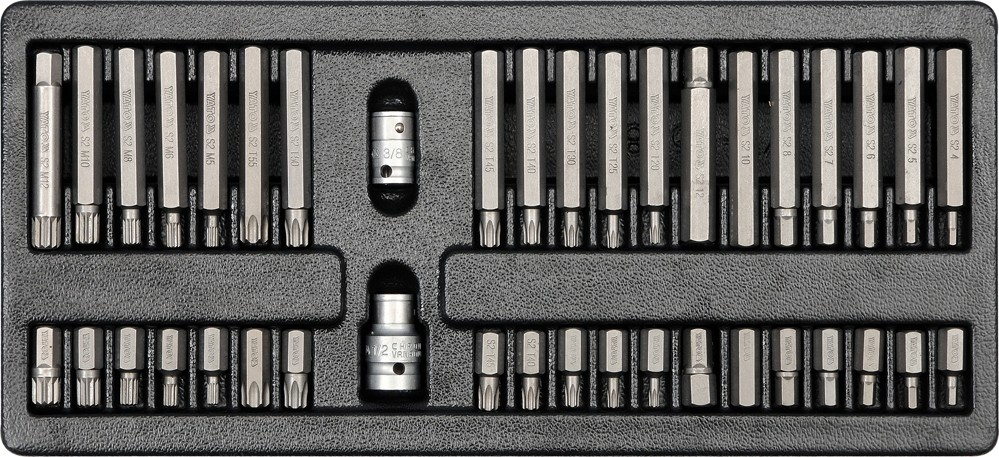 Vložka do zásuvky - šroubovací nástavce, 40ks