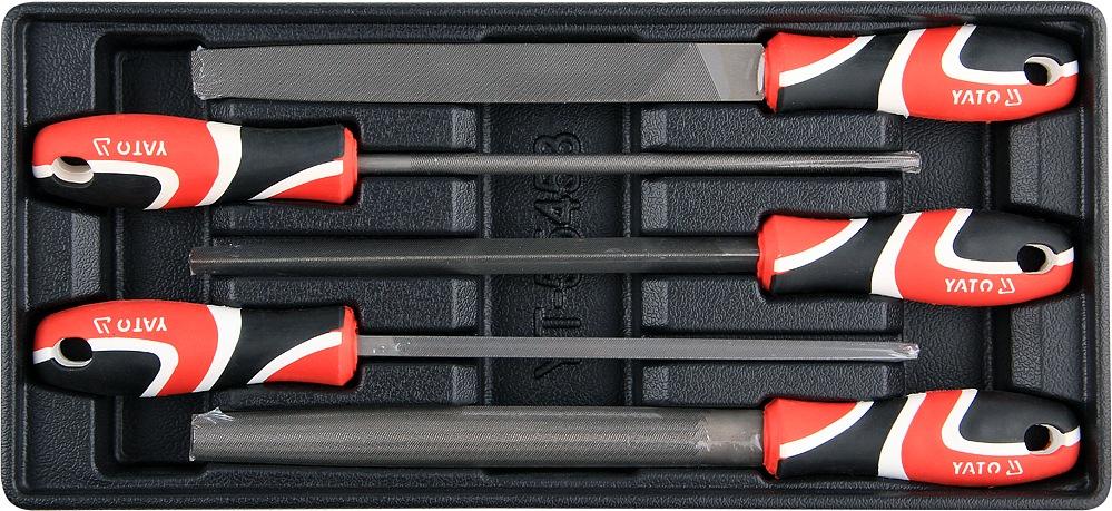 Vložka do zásuvky - sada pilníků zámečnických 5ks