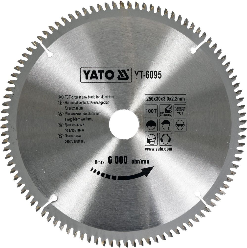 Kotouč na hliník 250 x 30 mm 100z
