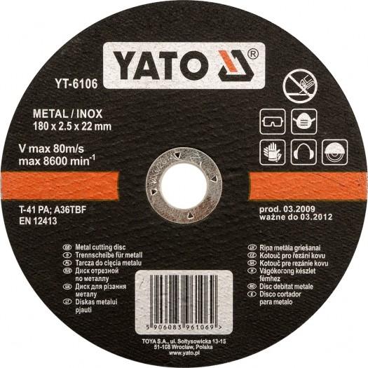 Kotouč na řezání kovu INOX 115x2,5