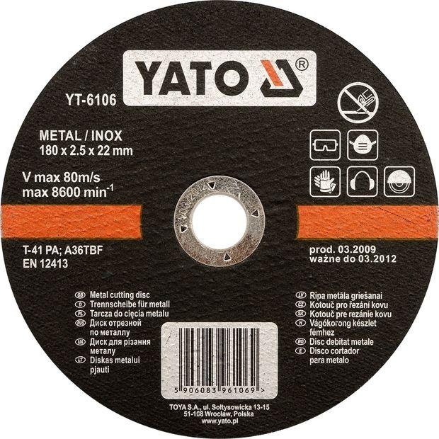 Kotouč na řezání kovu INOX 230x3,2x22