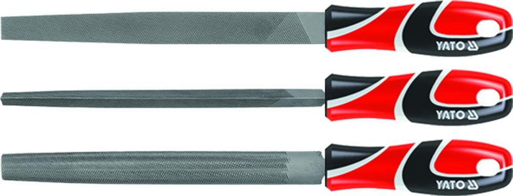 Sada pilníků zámečnických 250 mm 3 ks