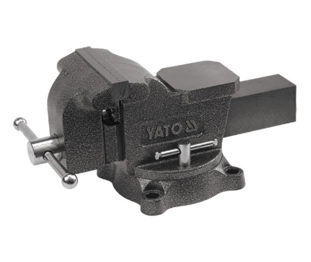 Svěrák zámečnický otočný 100 mm 7 kg