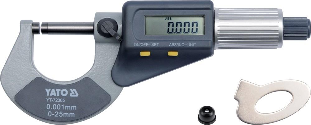 Mikrometr digitální 0-25mm