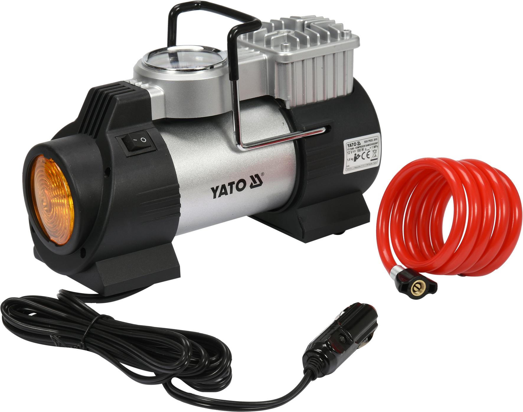 Kompresor s LED svítilnou 180W