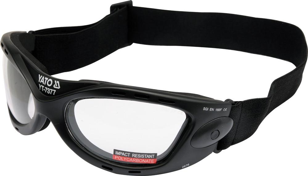 Ochranné brýle s páskem typ 2876