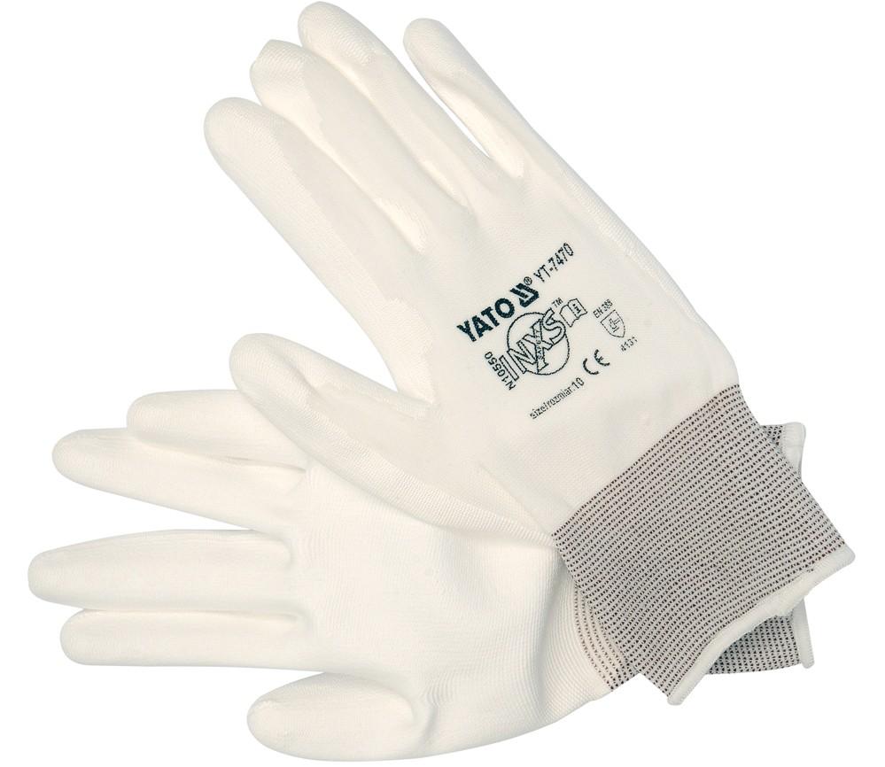 Pracovní rukavice nylon/PU