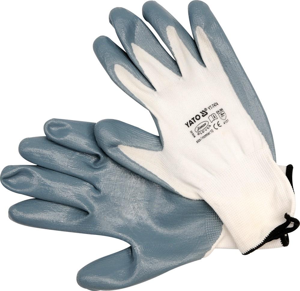 Pracovní rukavice nylon/nytrylit