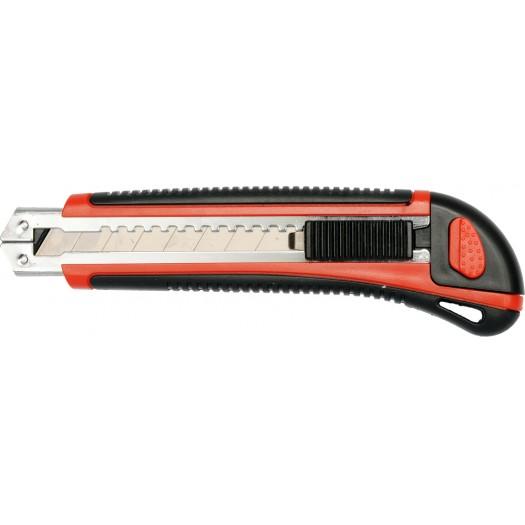 Nůž řezací 18 mm pojistka + 3 ks ostří