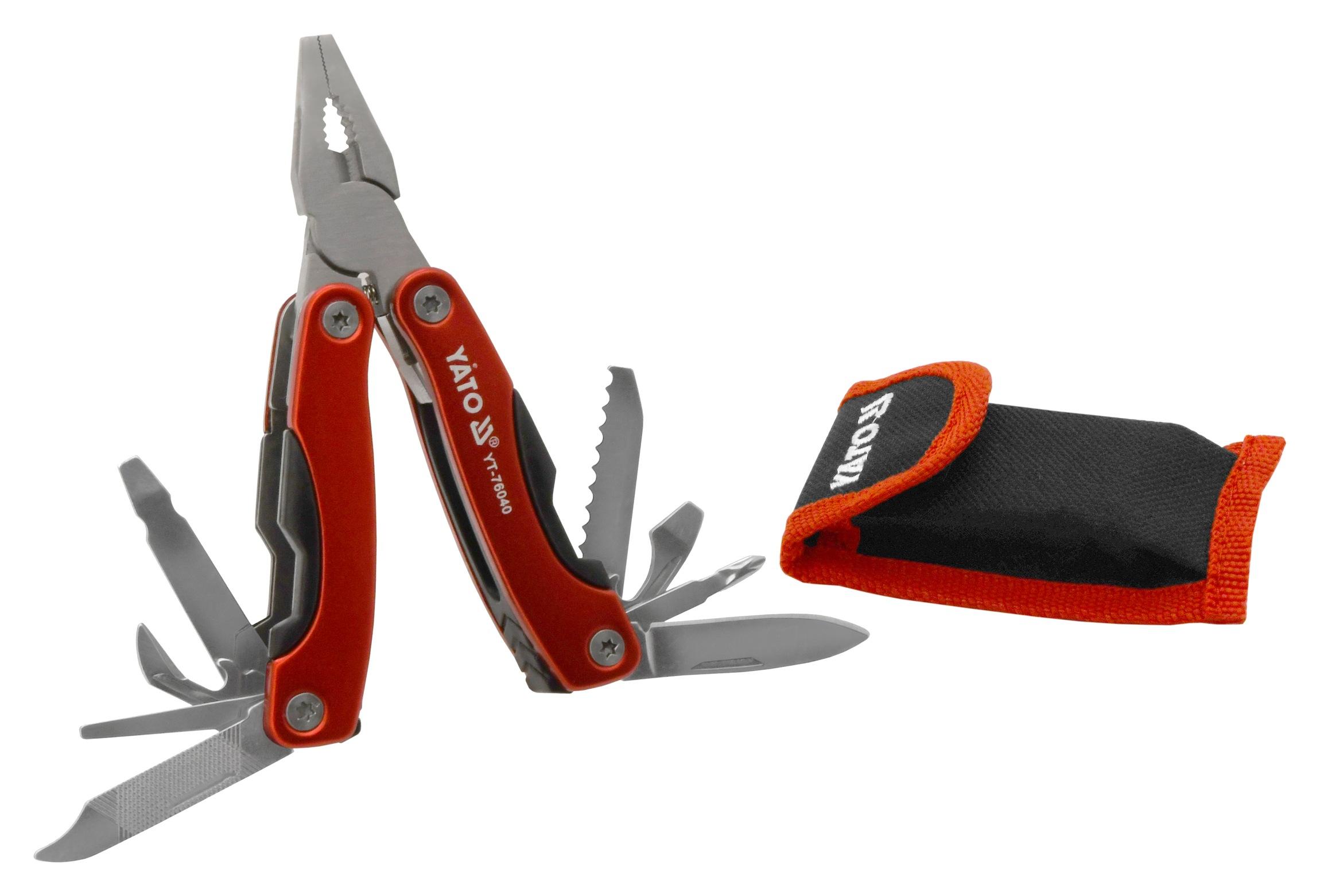 Multifunkční nůž 9 funkcí 105 mm