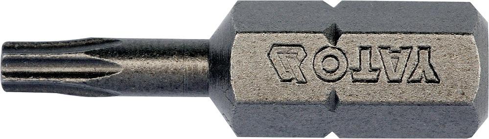 """Bit torx T10 x 1/4"""", dl.25mm 10ks"""
