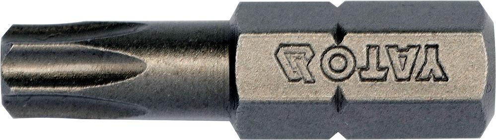 """Bit torx T27 x 1/4"""", dl.25mm 10ks"""