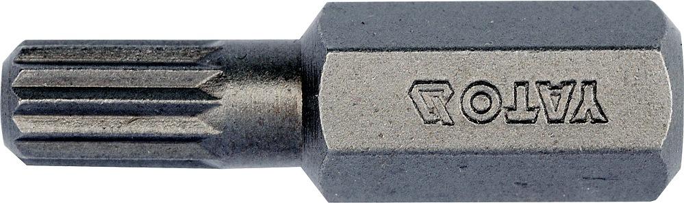 Bit vícezubý 8 mm M6 x 30 mm 10 ks S2