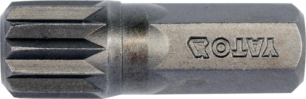 Bit vícezubý 8 mm M10 x 30 mm 8 ks S2