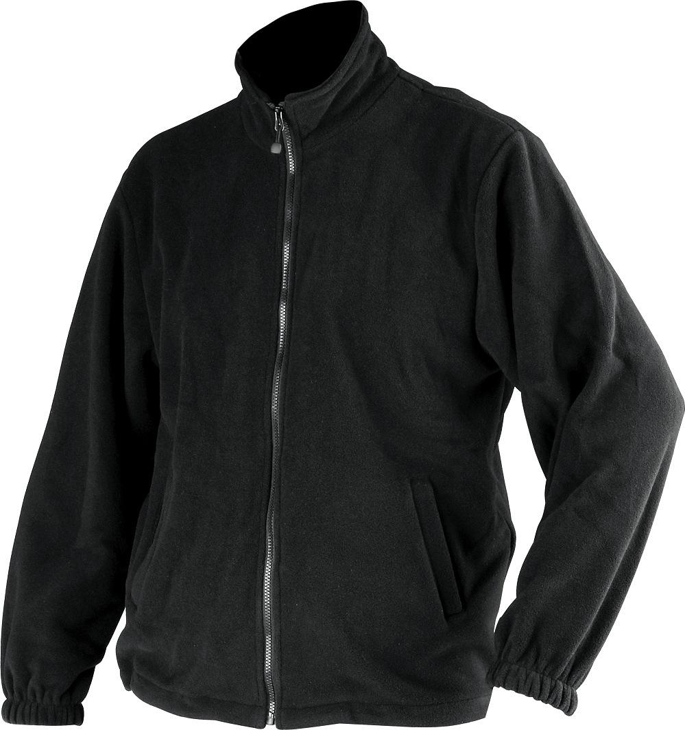 Fleecová bunda DURANGO černá vel. XXL