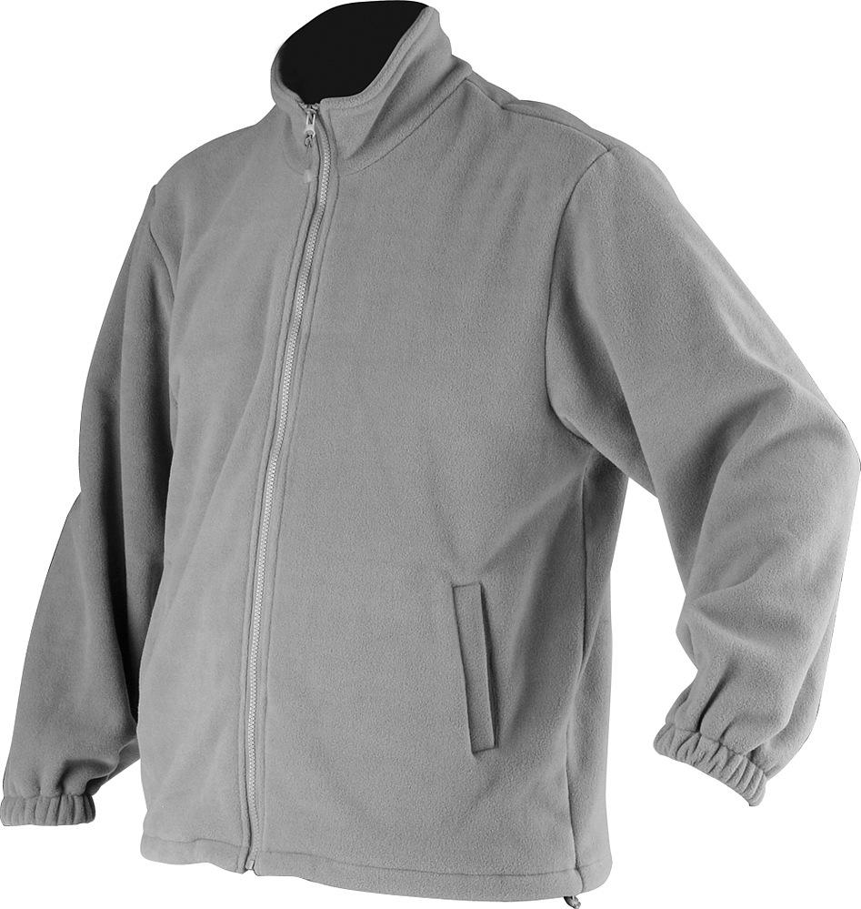 Fleecová bunda DURANGO šedá vel. XL
