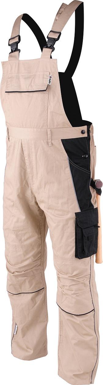 Pracovní kalhoty laclové DOHAR vel. XXL