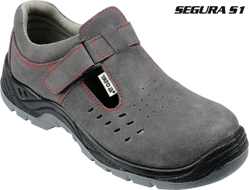 Boty pracovní polobotky Segura vel. 42