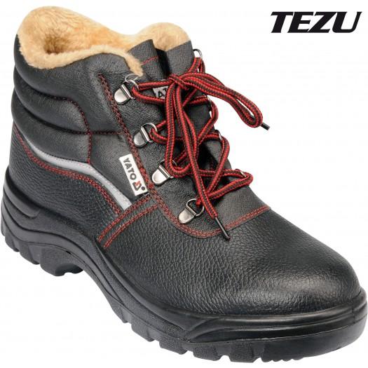 Boty pracovní kotníkové zimní TEZU vel. 39
