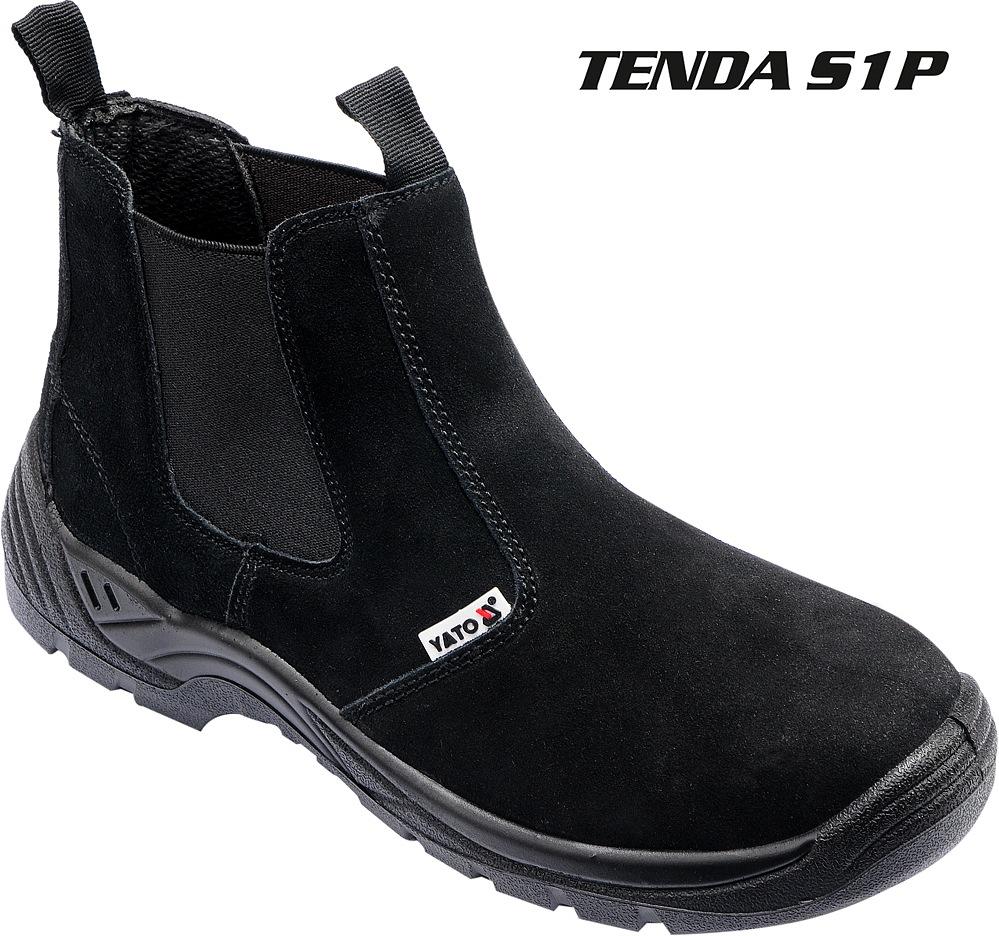 Boty pracovní kotníkové TENDA vel. 39