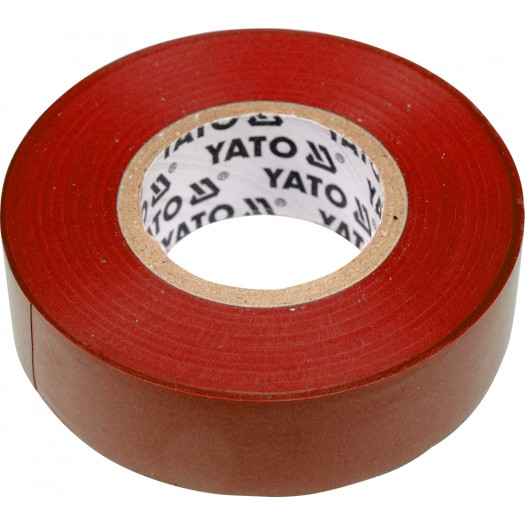 Páska izolační 19 x 0,13 mm x 20 m červená
