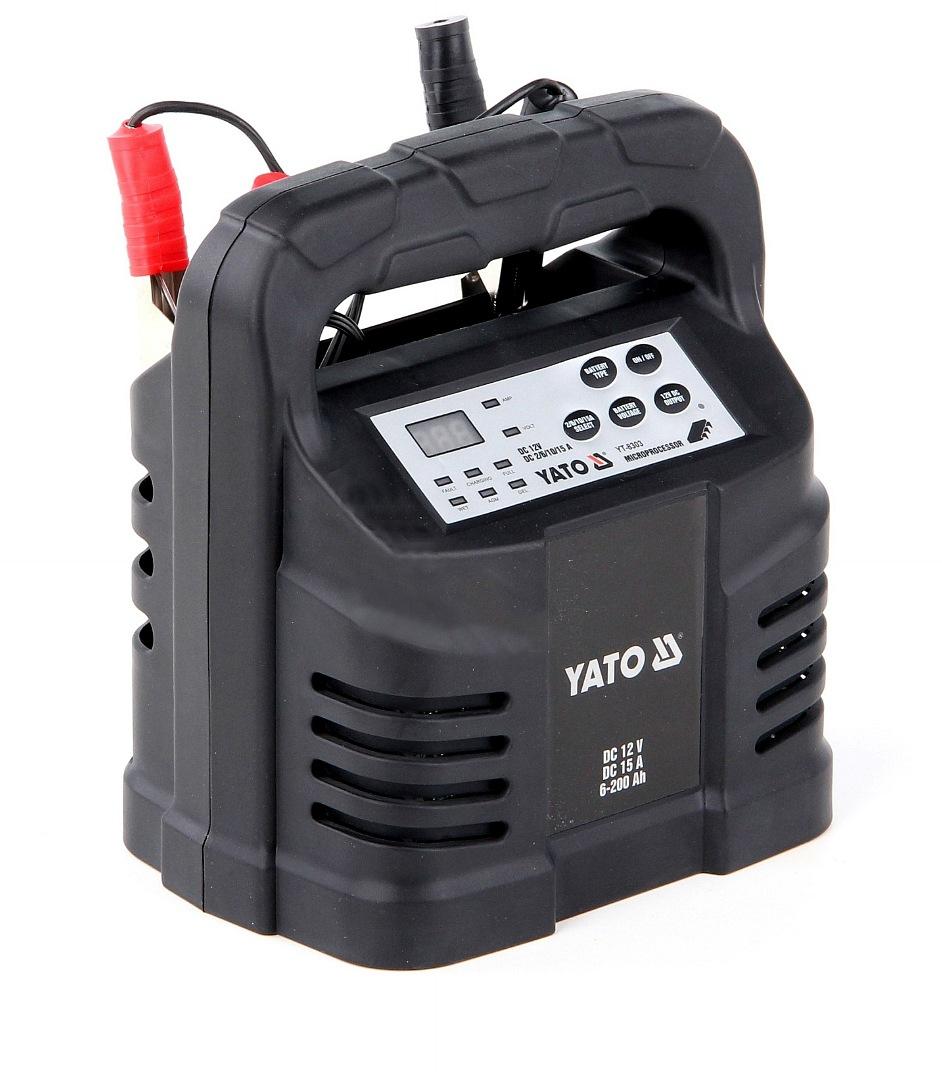 Nabíječka 15A 12V gel/procesor